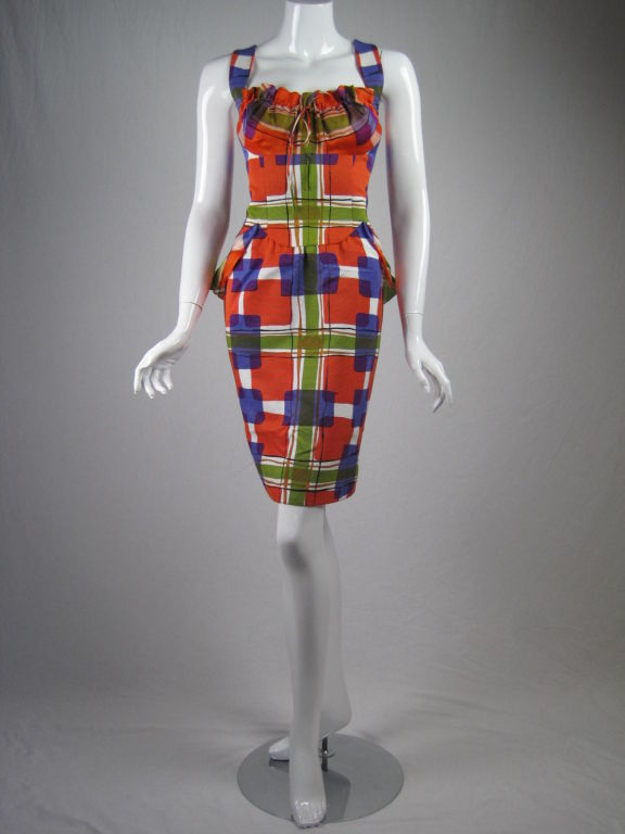 Christian Lacroix Colorful Cocktail Dress 2