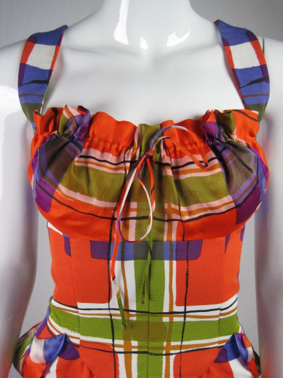 Christian Lacroix Colorful Cocktail Dress 5