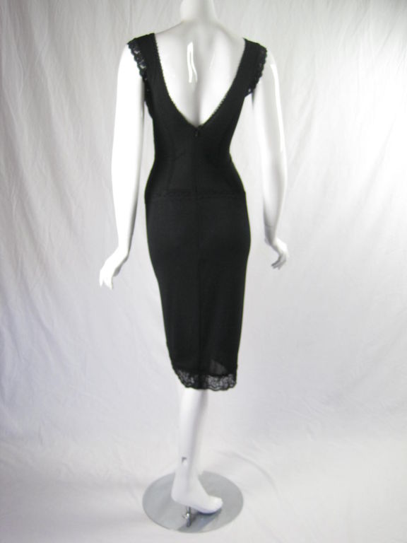 Dolce & Gabbana Lace Cocktail Dress image 4