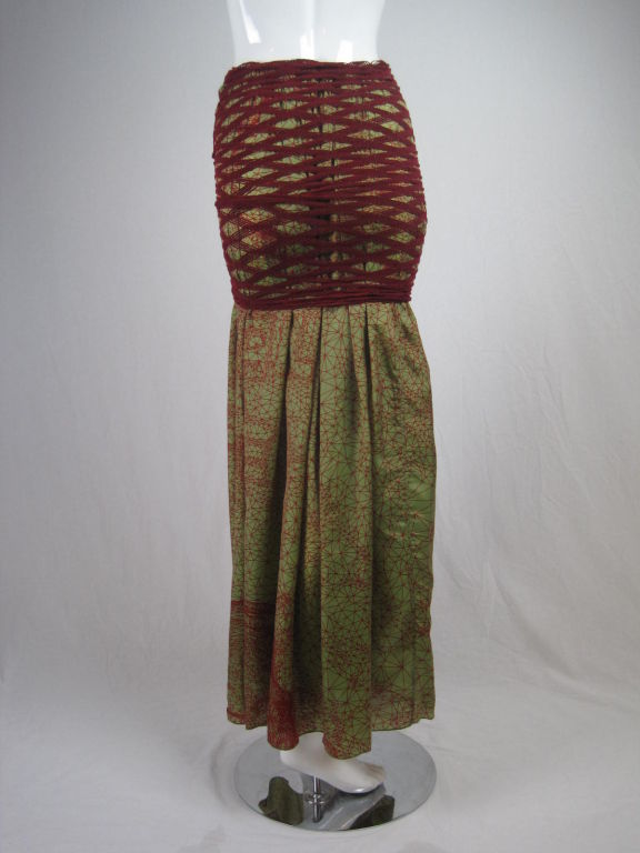 Jean Paul Gaultier Double Layered Skirt 3