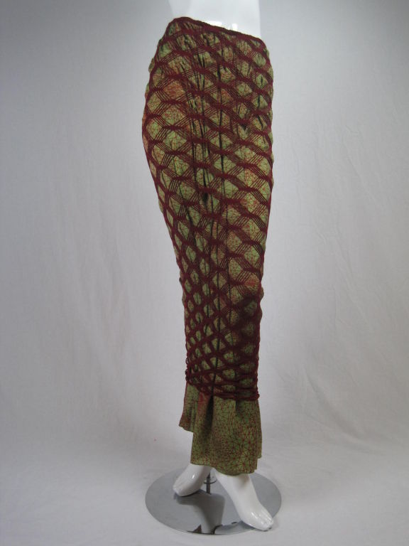 Jean Paul Gaultier Double Layered Skirt 4