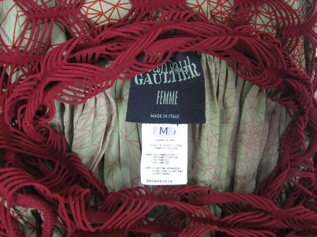 Jean Paul Gaultier Double Layered Skirt 6