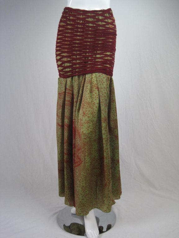 Jean Paul Gaultier Double Layered Skirt 7