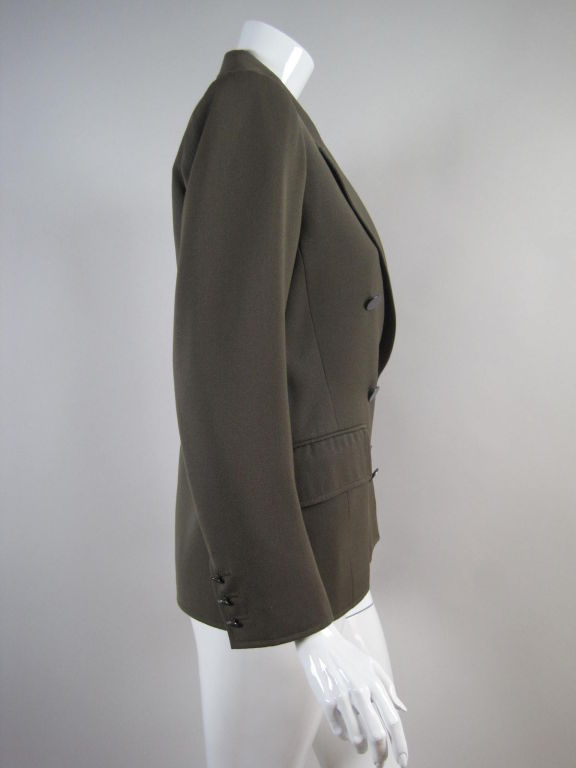 YSL Double-Breasted Military Blazer 3