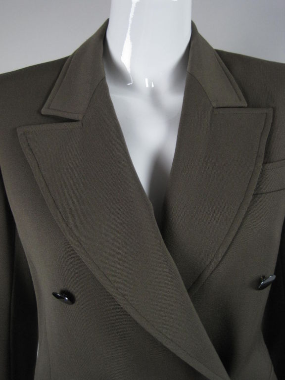 YSL Double-Breasted Military Blazer 5