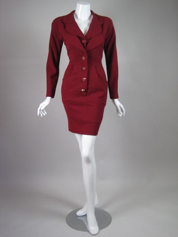 Karl Lagerfeld Dress with Double Collar 2