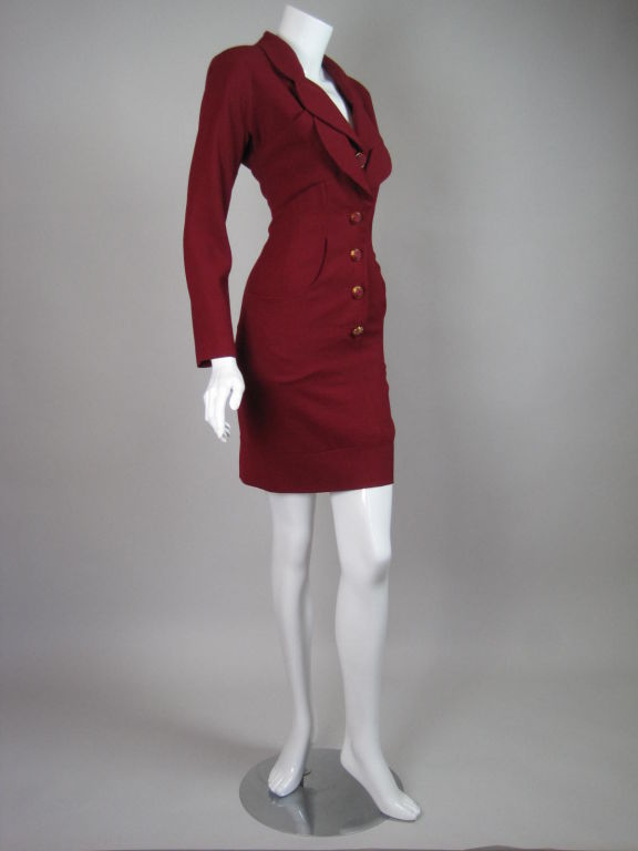 Karl Lagerfeld Dress with Double Collar 3