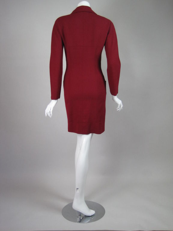 Karl Lagerfeld Dress with Double Collar 4