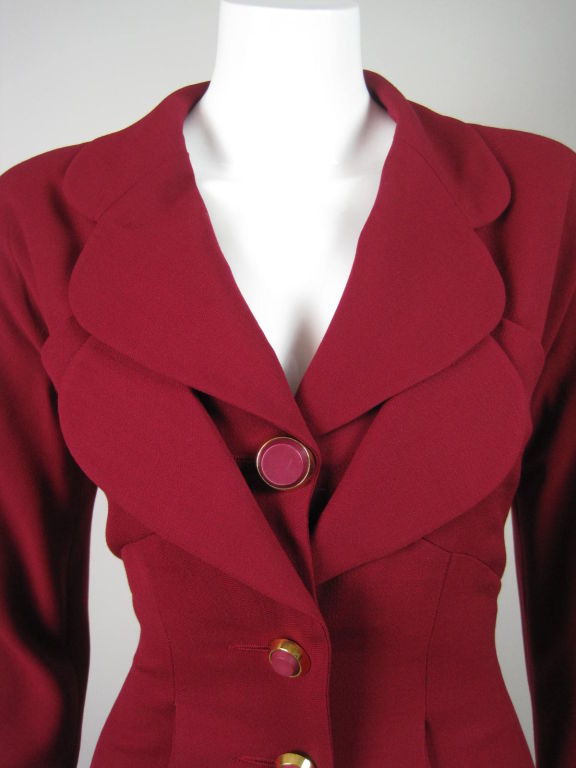 Karl Lagerfeld Dress with Double Collar 5