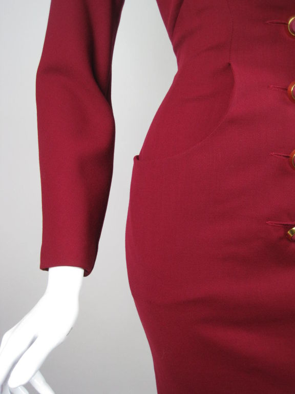 Karl Lagerfeld Dress with Double Collar 6