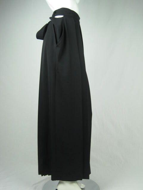 Yohji Yamamoto Pleated Skirt image 3
