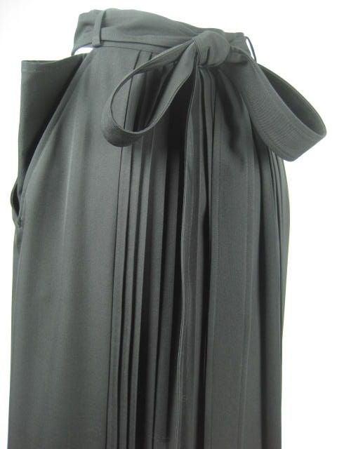 Yohji Yamamoto Pleated Skirt image 4
