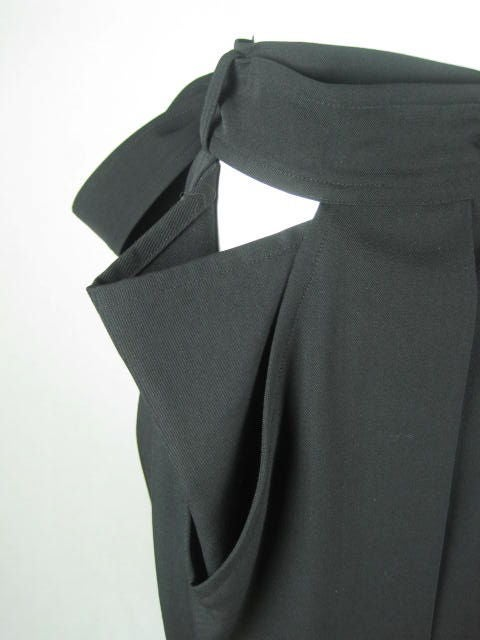 Yohji Yamamoto Pleated Skirt image 5