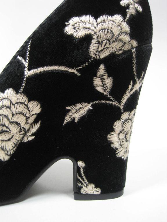 Dolce & Gabbana Embroidered Platform Wedges image 5