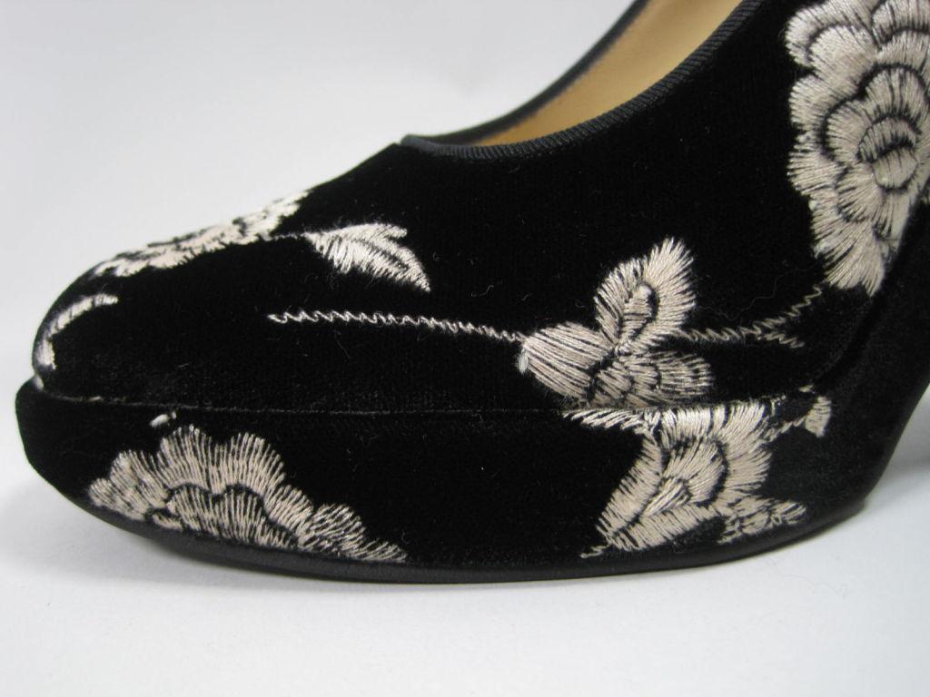 Dolce & Gabbana Embroidered Platform Wedges image 6