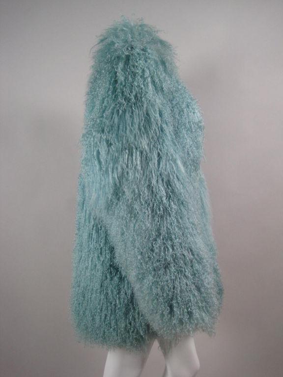 Birger Christensen Mongolian Lamb Coat 4
