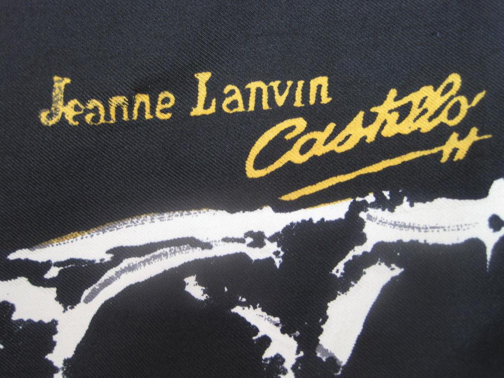 Lanvin Castillo Silk Scarf 5