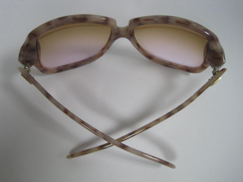 1970's YSL Oversized Tortoise Shell Sunglasses 4