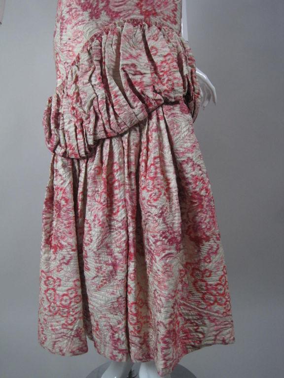 1920's Lamé Brocade Gown 6