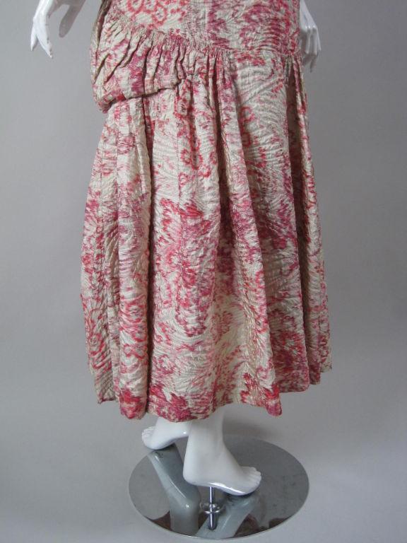 1920's Lamé Brocade Gown 7