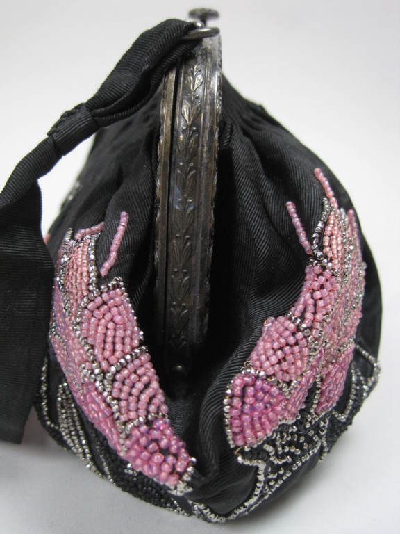 1920's French Beaded Handbag 3