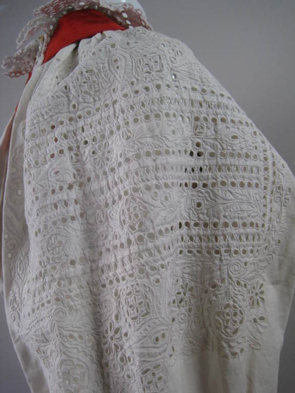 Early 20th Century Eastern European Blouse and Vest 7
