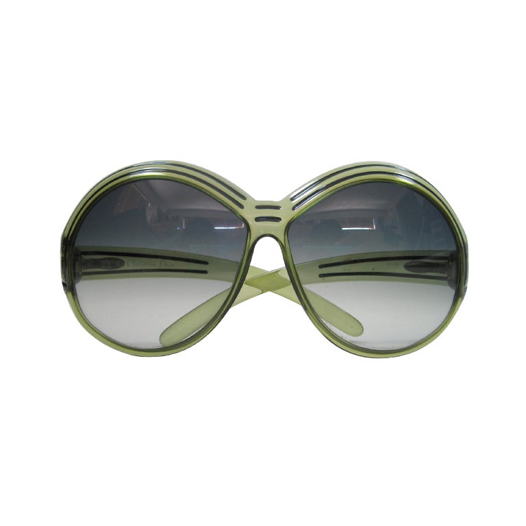 1970's Christian Dior Oversized Glasses
