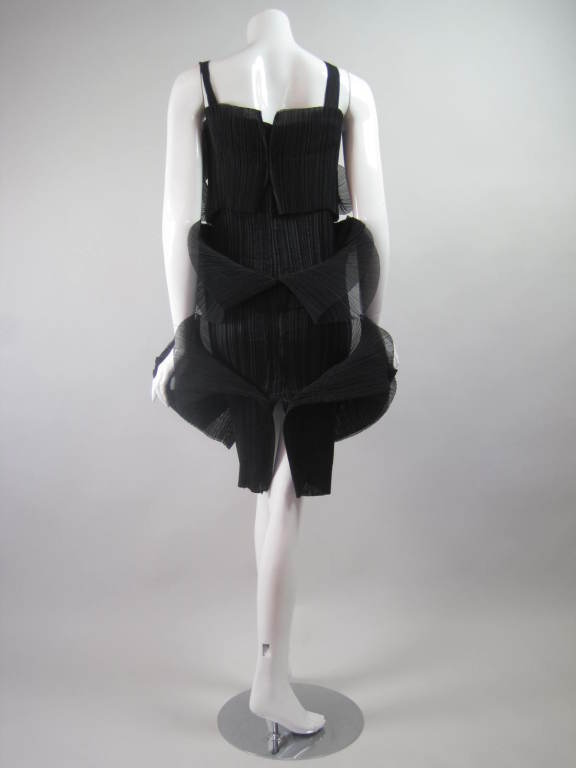 Issey Miyake Sculptural Pleated Dress 6