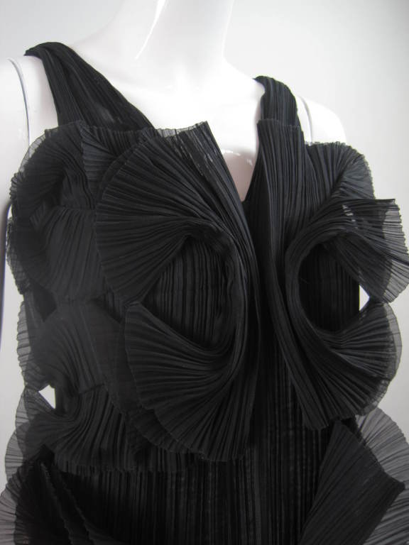 Issey Miyake Sculptural Pleated Dress 7