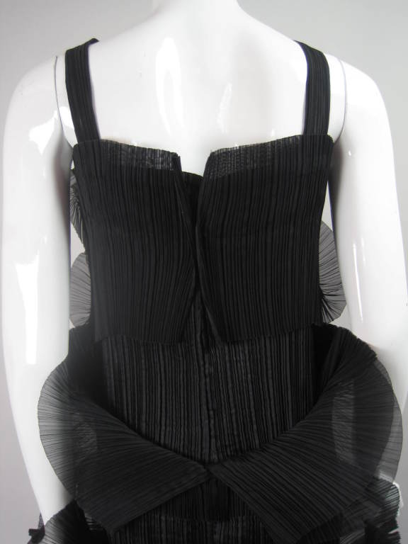 Issey Miyake Sculptural Pleated Dress 9