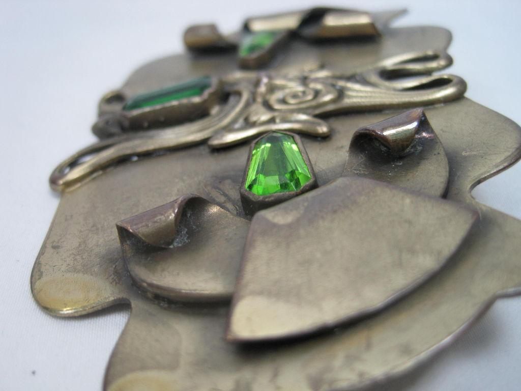 Art Nouveau Brooch-SALE! 3