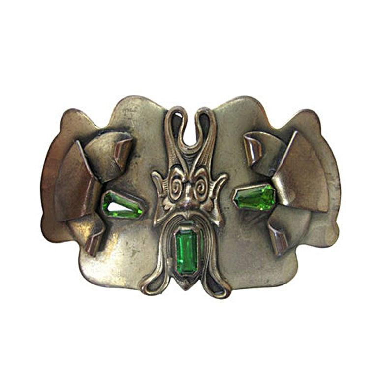 Art Nouveau Brooch-SALE! 1