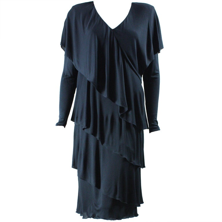 Holly's Harp Tiered Jersey Dress