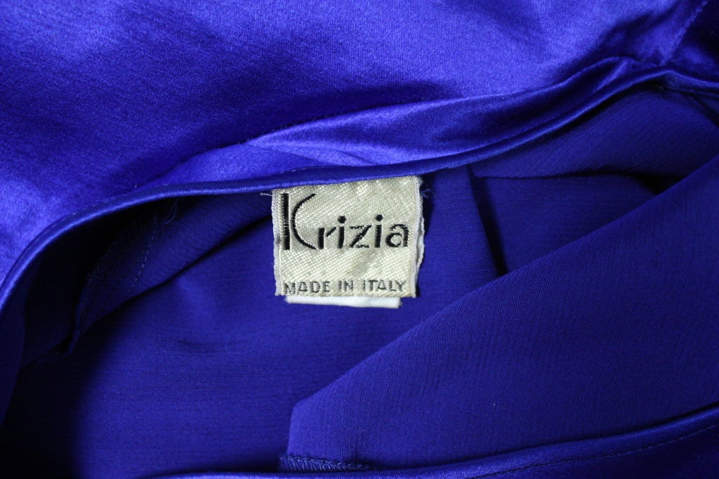 Krizia One-Sleeved Gown For Sale 3