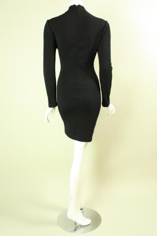 Women's Patrick Kelly Color-Blocked Knit Dress For Sale