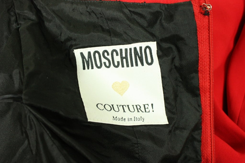 Moschino Couture Can-can Dress 8