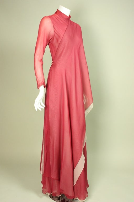 Stavropoulos Silk Evening Gown 3