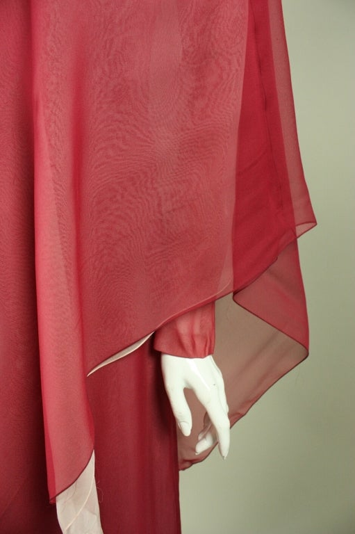 Stavropoulos Silk Evening Gown 7