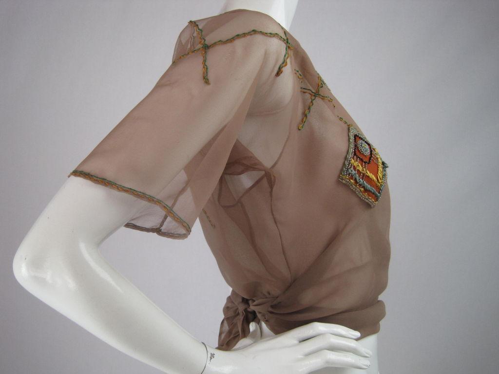 1930's Sheer Blouse 2