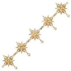 Diamond Wind Rose Bracelet