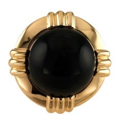 Great Black Onyx Ring by Tambetti