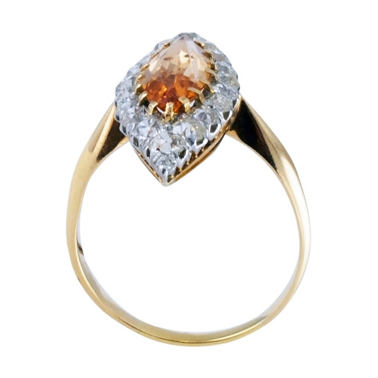 antique imperial topaz ring at 1stdibs