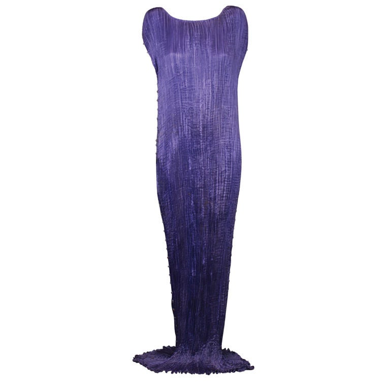 Mariano Fortuny  Amethyst  Delphos Gown For Sale