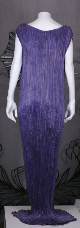 Women's Mariano Fortuny  Amethyst  Delphos Gown For Sale