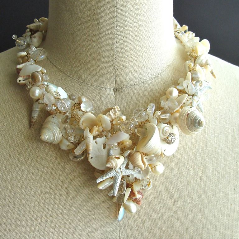 She Sells Sea Shells Necklace Back Bay Collection At 1stdibs