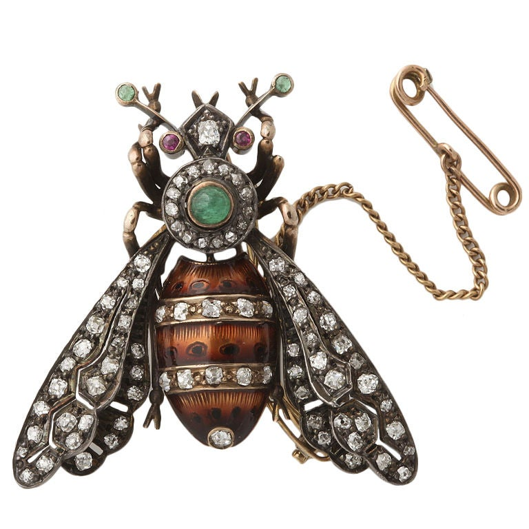 Magnificent Bumble Bee Brooch