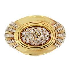Boucheron Diamond and Gold Dress Ring