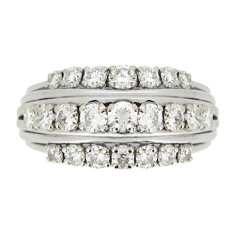 1950s Van Cleef & Arpels Paris diamond ring 1
