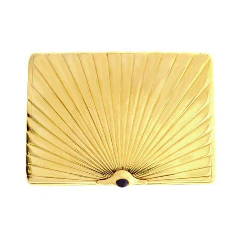 Fabergé Gold Case, Russian, circa 1900