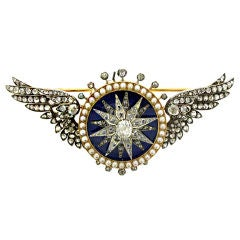 Attributed to Garrard automated turban brooch (sarpech), circa 1910.